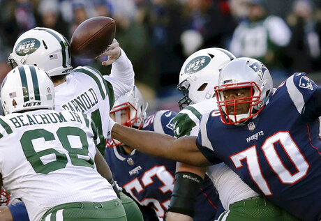 Jets Patriots Football