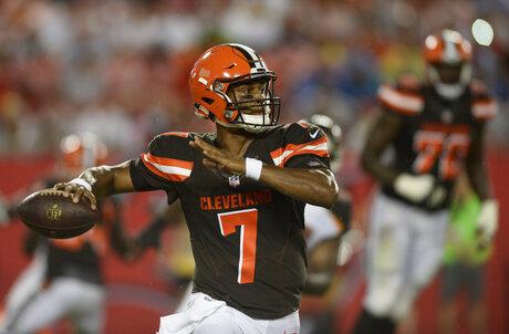 Browns Rookies vs Steelers Football