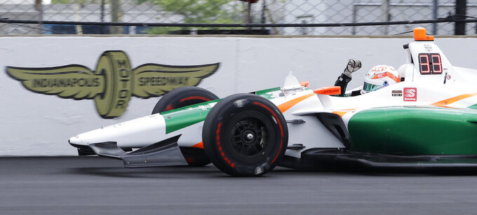 Juncos Racing signs up sponsors for Indy 500 run