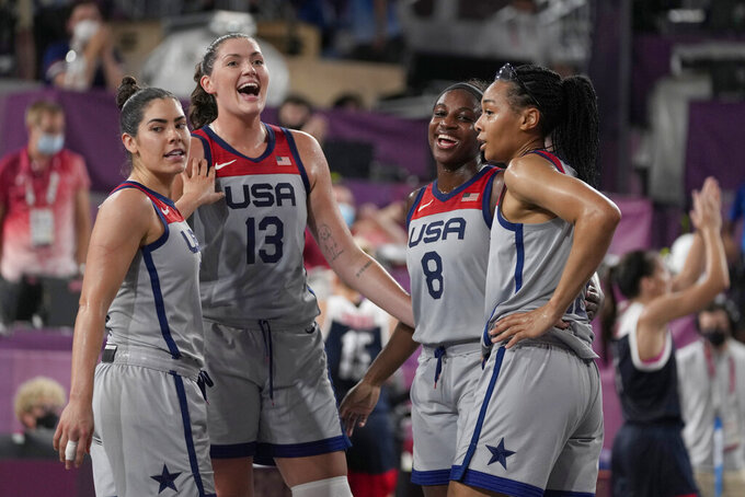 U.S. women's hoops team captures 3-on-3 Olympic gold