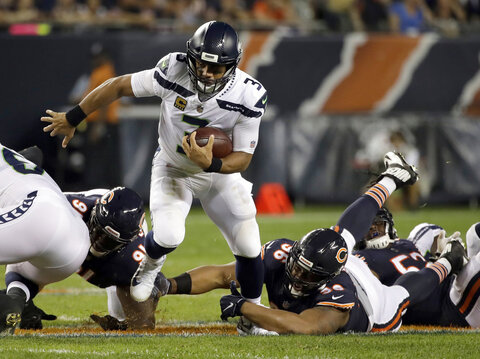 Seahawks Bears Football