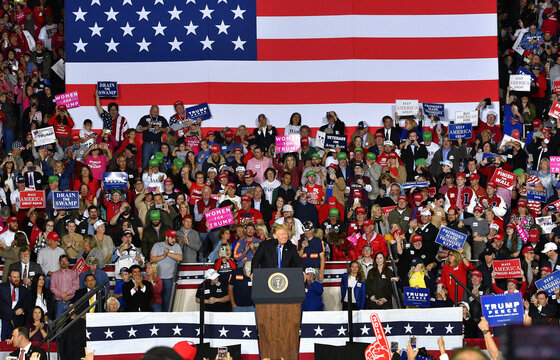 APTOPIX Election 2018 Trump