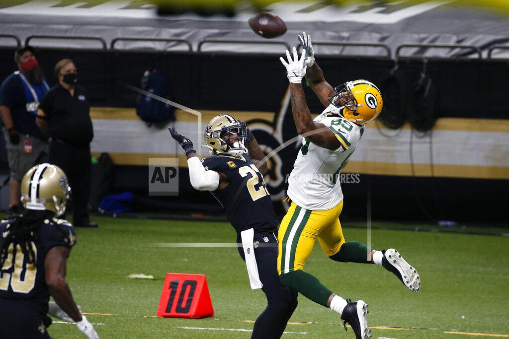 Packers Saints Football