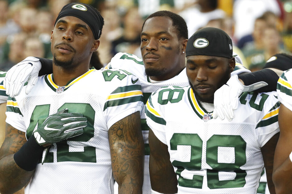 Ha Ha Clinton-Dix, Morgan Burnett. Josh Hawkins