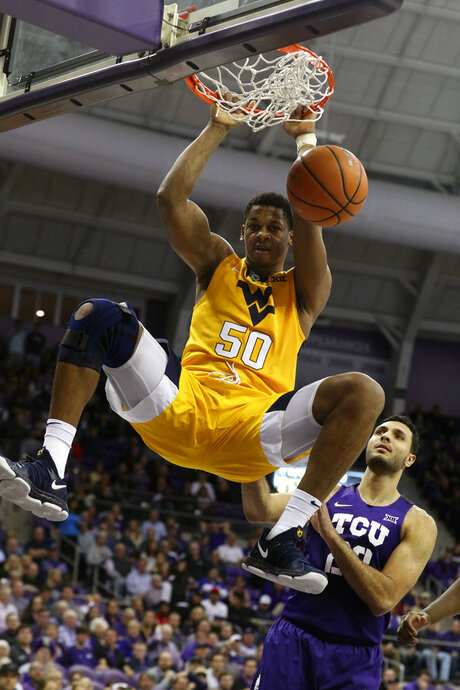APTOPIX West Virginia TCU Basketball