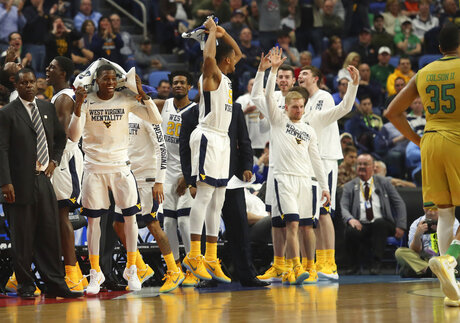 NCAA Notre Dame West Virginia Basketball