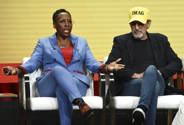 Gina Yashere, left, producer of the CBS series