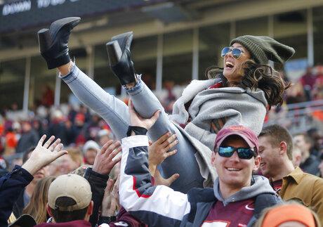Virginia Virginia Tech Football