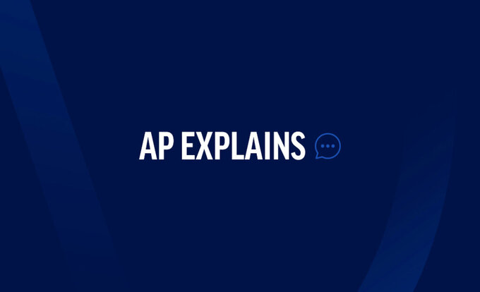 """This logo is intended to accompany AP explanatory material bearing """"AP Explains"""" in copy."""