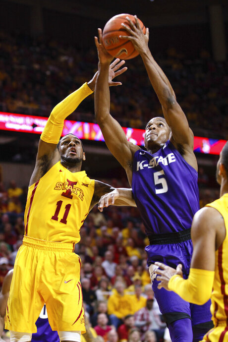 Kansas St Iowa St Basketball