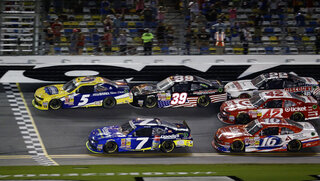 Kasey Kahne, Regan Smith, Ryan Sieg, Ryan Reed, Kyle Larson