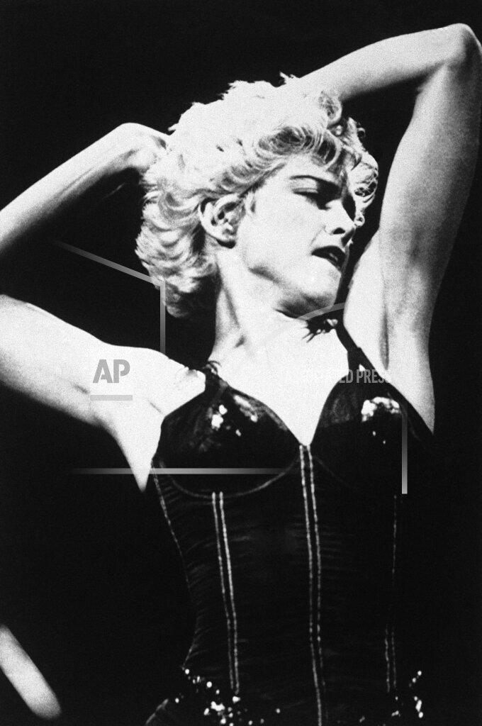 Watchf AP A  CA USA APHS241581 Rock Singer  Madonna   Performing