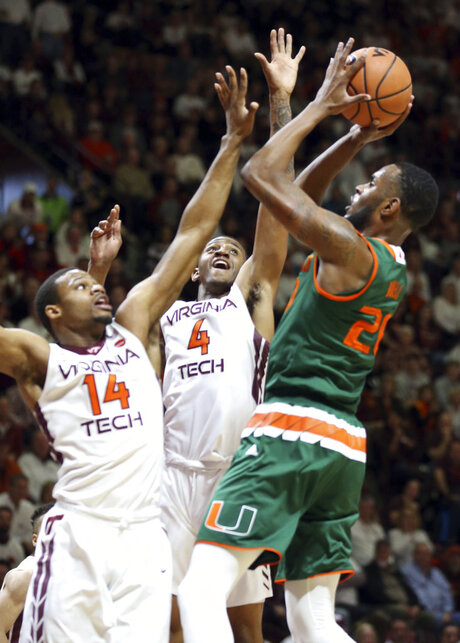 Miami Virginia Tech Basketball