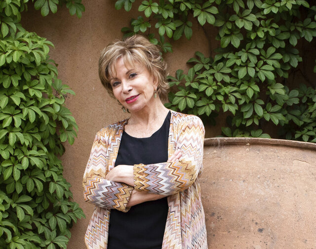 This image released by Random House shows Isabel Allende, author of