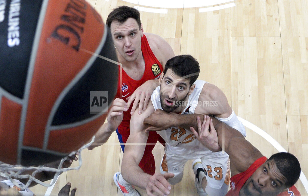 Russia Basketball Euroleague CSKA - Baskonia