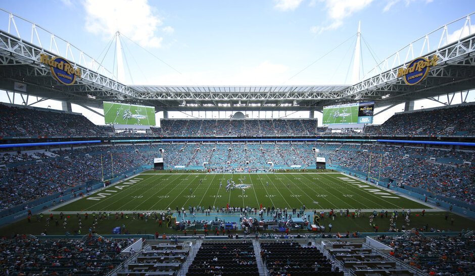 Miami Open Dolphins Stadium Football
