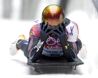 Daly Returns Skeleton Olympics