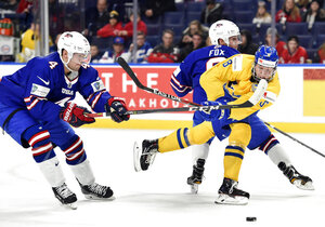 World Juniors Sweden United States Hockey