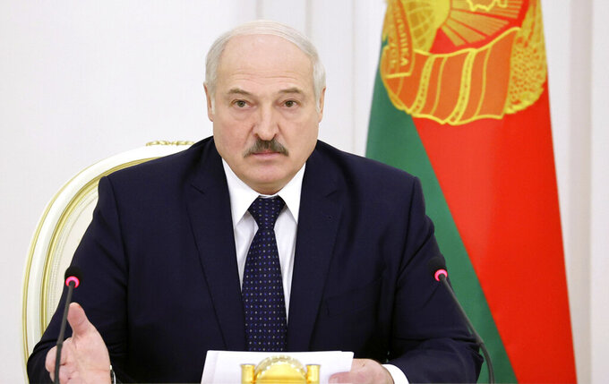 IOC suspends Belarus president Lukashenko from Olympic Games