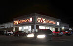 CVS Pharmacy on Moosic Street is illuminated at night,  Wednesday, April 21, 2021, in Scranton, Pa. (Jake Danna Stevens/The Times-Tribune via AP)