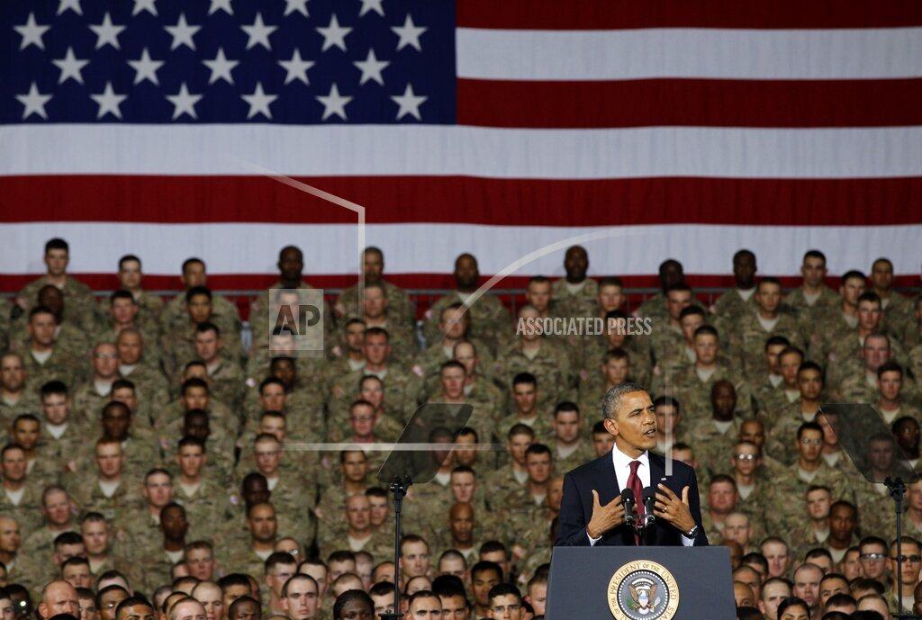 APTOPIX Obama 2012