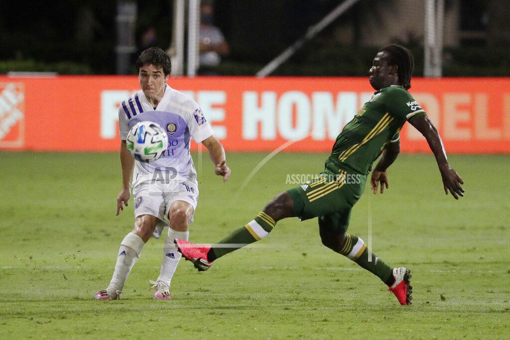 MLS Timbers Orlando City Soccer