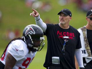 Falcons Quinn Football