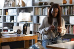 This image released by Universal Pictures shows Issa Rae in a scene from