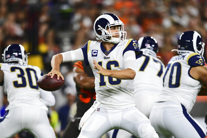 Los Angeles Rams at Cleveland Browns 9/22/2019