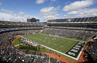 Raiders-Stadium Football