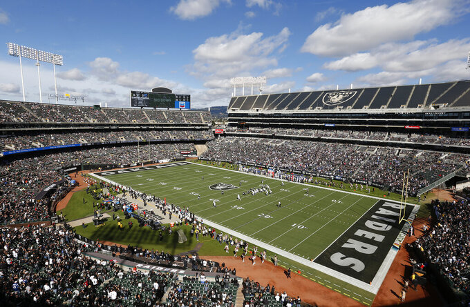 Indianapolis Colts at Oakland Raiders 10/28/2018