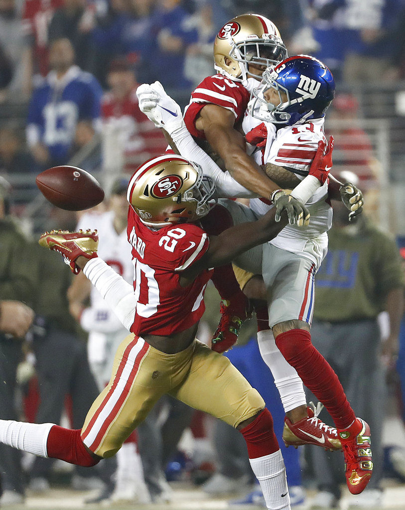 APTOPIX Giants 49ers Football