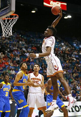 APTOPIX P12 UCLA USC Basketball