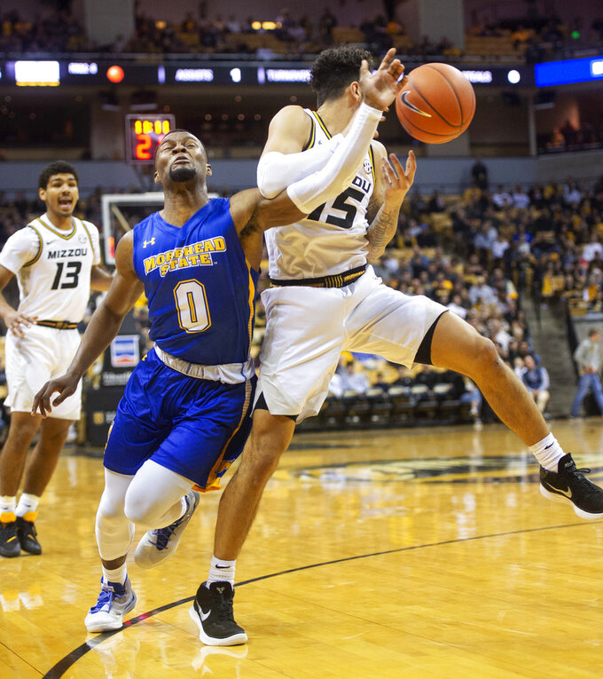 Missouri ends perfect month with victory over Morehead State