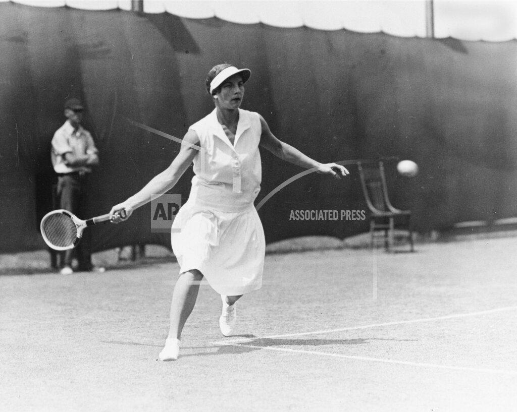 Associated Press Sports Massachusetts United States Tennis HELEN WILLS MOODY