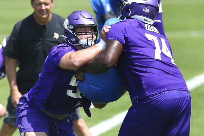 As rookies begin camp, Vikings face high expectations