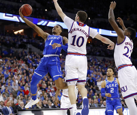 NCAA Duke Kansas Basketball