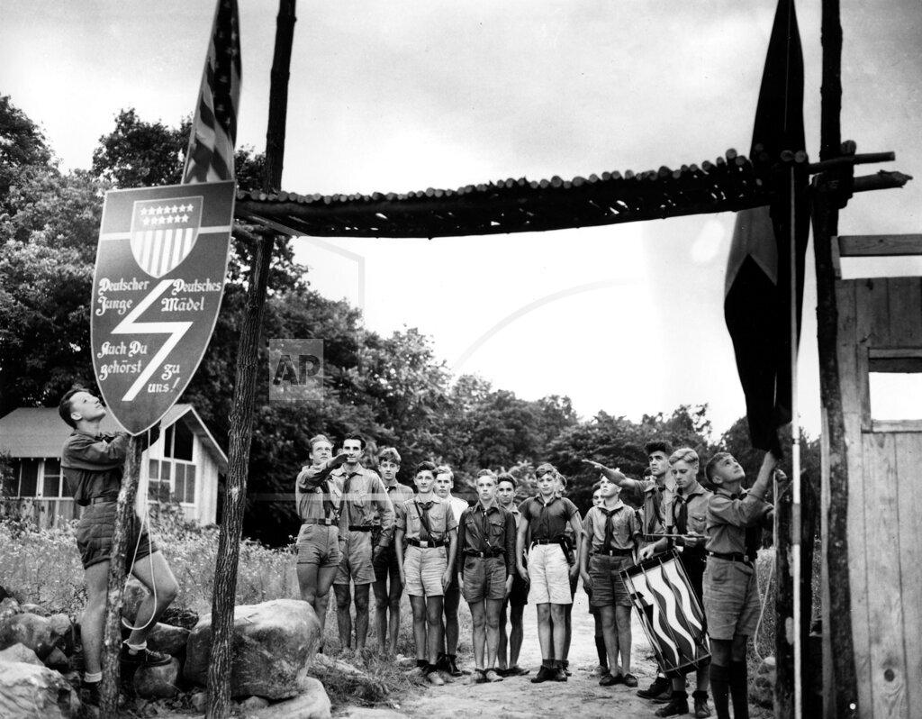 Associated Press Domestic News New Jersey United States U.S. GERMAN AMERICAN BUND