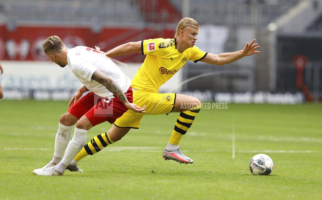 Sports: Football: 1.Bundesliga: season 19/20: 31st matchday: Fortuna Dv'sseldorf, Duesseldorf - BVB, Borussia Dortmund