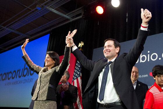Marco Rubio, Nikki Haley
