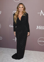Mariah Carey arrives at Variety's Power of Women on Friday, Oct. 11, 2019, at the Beverly Wilshire hotel in Beverly Hills, Calif. (Photo by Jordan Strauss/Invision/AP)