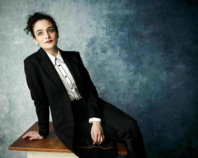 FILE - In this Jan. 26., 2019 file photo, Jenny Slate poses for a portrait to promote the film