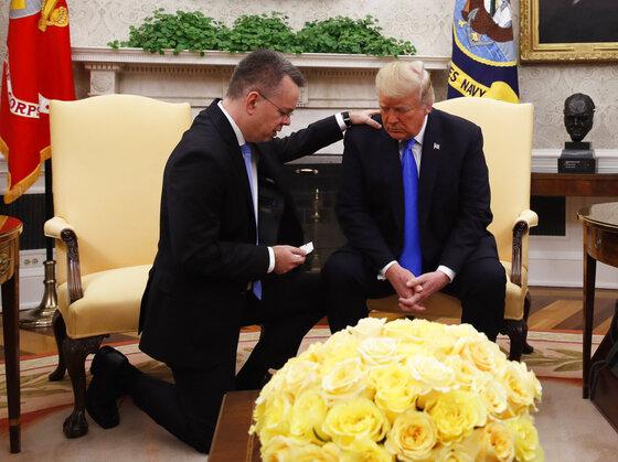 Donald Trump Andrew Brunson, Donald Trump Andrew Brunson