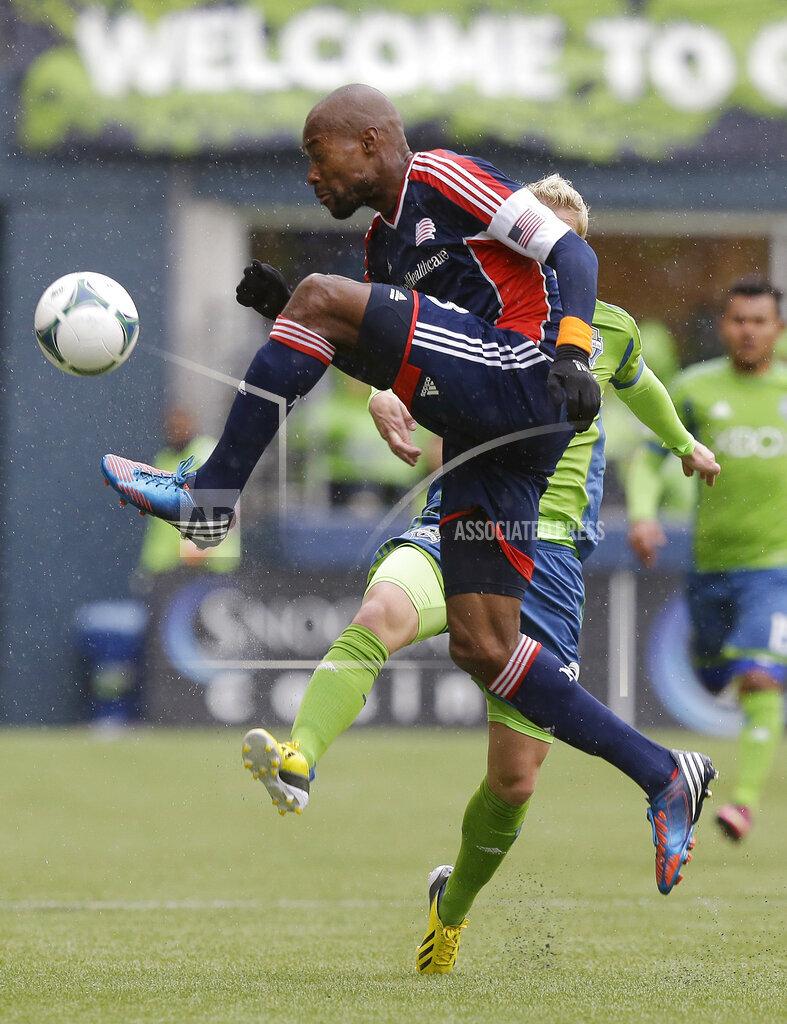 MLS Revolution Sounders Soccer