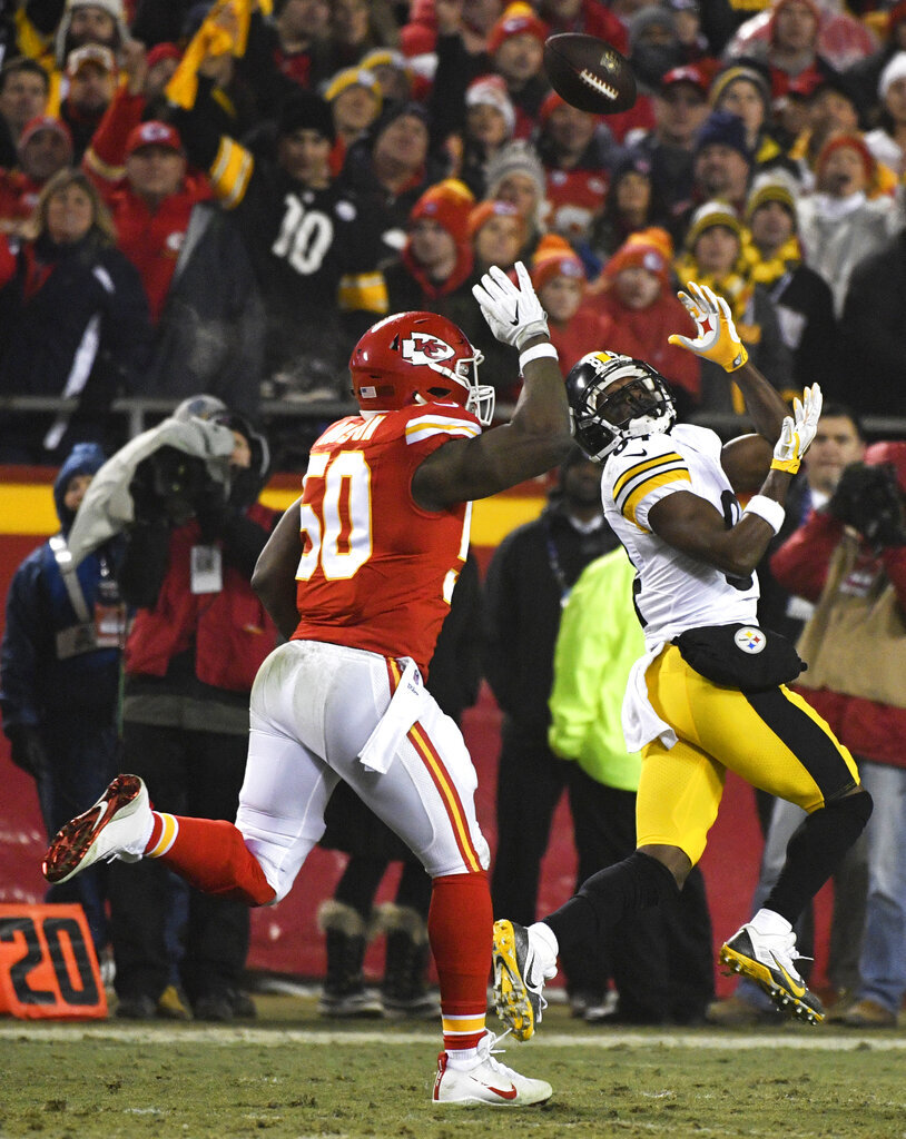 Antonio Brown, Justin Houston