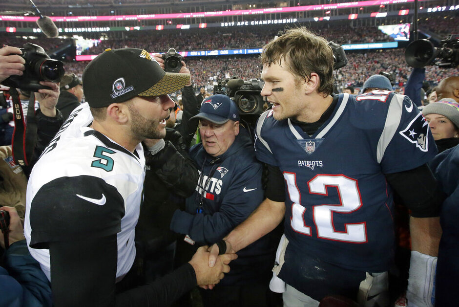 Blake Bortles, Tom Brady