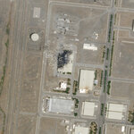 This Sunday, July 5, 2020 satellite image from Planet Labs Inc. shows the substantial damage done by an explosion and a fire at an advanced centrifuge assembly plant at Iran's Natanz nuclear site. Israeli leaders are now hinting it was behind the massive fire at the Iranian nuclear site last week, potentially ratcheting up a long-running covert war. (Planet Labs Inc. via AP)