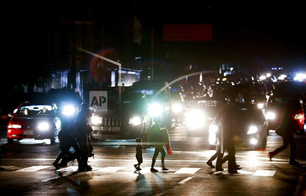 Venezuela Power Outage