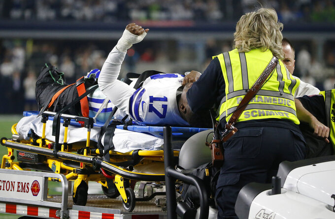 Cowboys' Allen Hurns has surgery for severe ankle injury