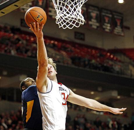 West Virginia Texas Tech Basketball